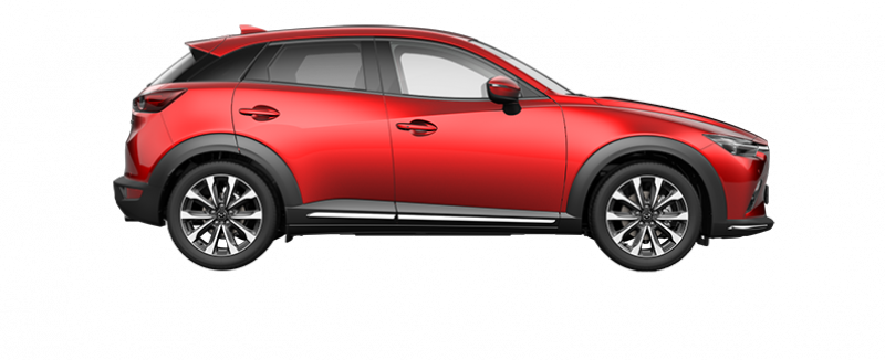 Mazda CX-3 GT-M in Soul Red